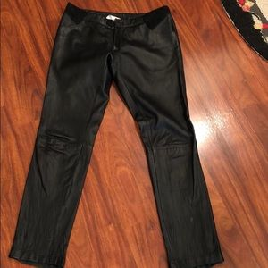 SARA BERMAN leather pants